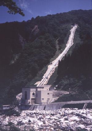 片貝南又P/S 水圧鉄管(日本海発電)
