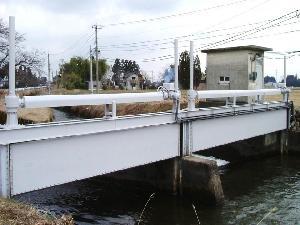 常東用水路水門その2工事(富山県)