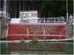 神野発電所取水口スクリーン取替工事(関西電力)